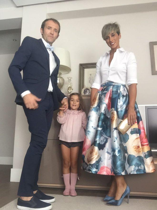 Nos vamos de boda con una falda midi